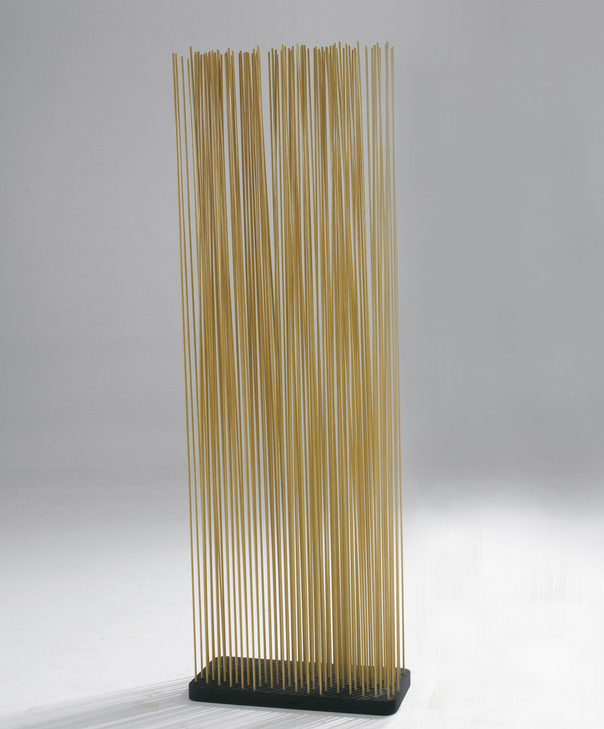 Mobilier - Paravents, séparations - Paravent Sticks / L 60 x H 150 cm - Intérieur & extérieur - Extremis - Naturel - Caoutchouc, Fibre de verre renforcée