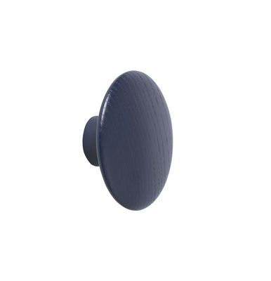Patère The Dots Wood / XSmall - Ø 6,5 cm - Muuto bleu en bois