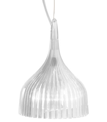 Lighting - Pendant Lighting - E' Pendant by Kartell - Cristal - Polycarbonate