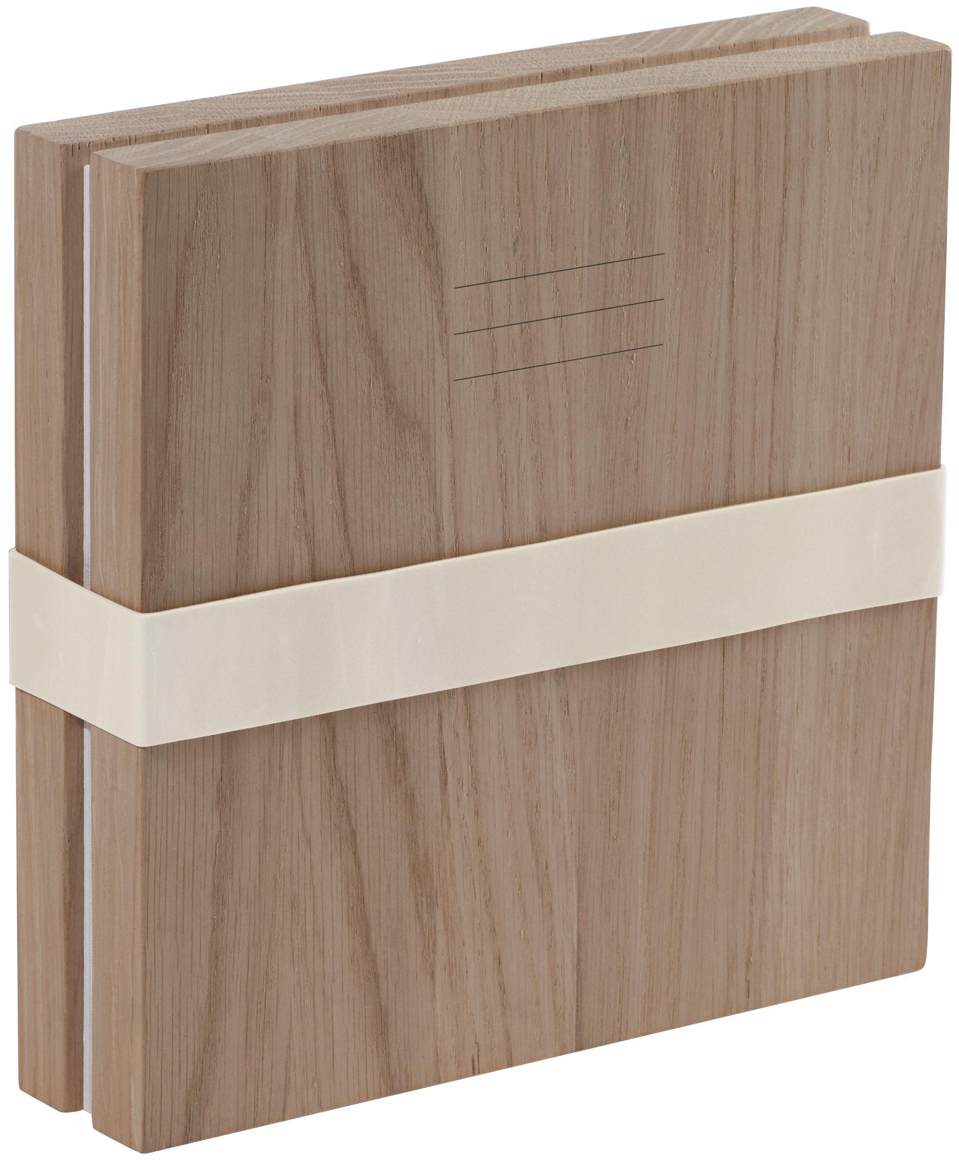 Decoration - Home Accessories - Portfolio Picture album by L'atelier d'exercices - Solid oak / White - Paper, Solid oak