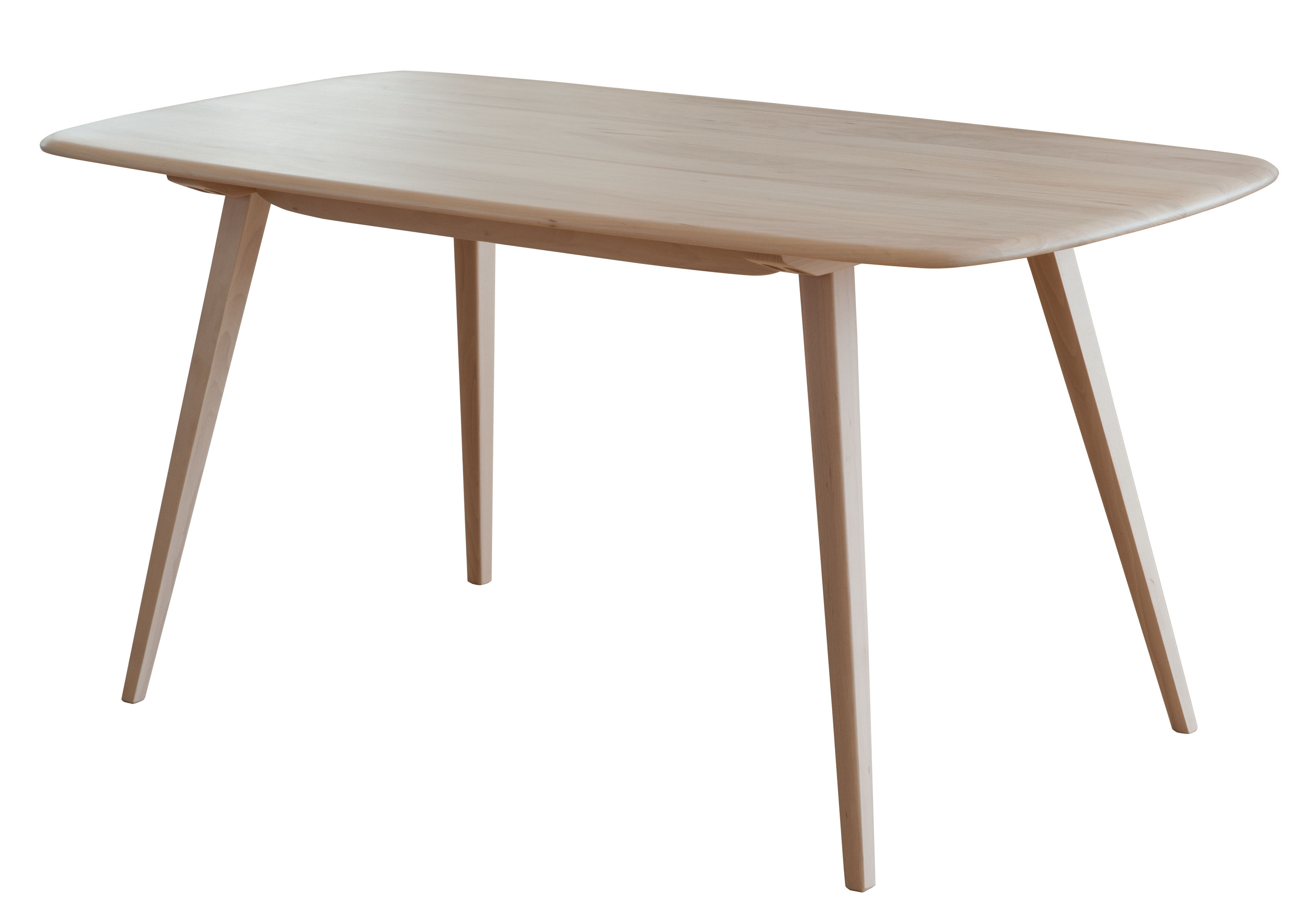 Trends - Take your seat! - Plank Rectangular table - 152 x 76 cm / Reissue 1950' by Ercol - Natural wood - Solid ash, Solid elm