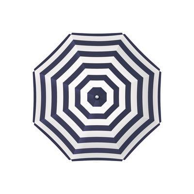 Arts de la table - Nappes, serviettes et sets - Set de table Parasol / 38 x 38 cm - Vinyle - PÔDEVACHE - Bleu Marine - Vinyle