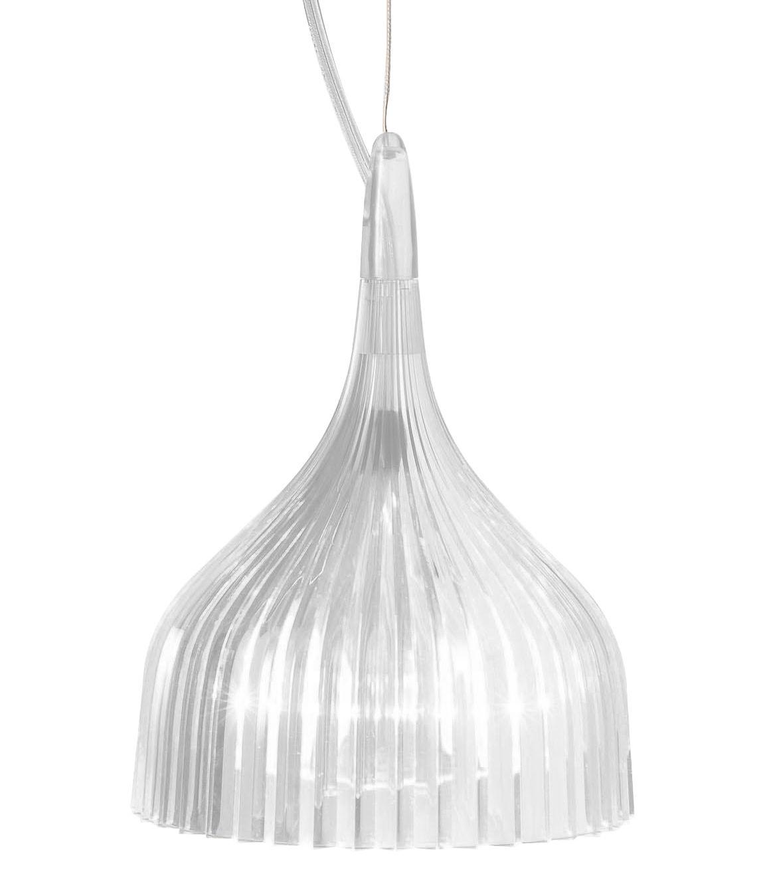 Luminaire - Suspensions - Suspension E' - Kartell - Cristal - Polycarbonate