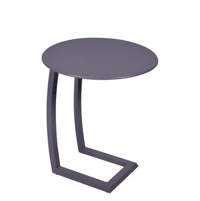 Table basse Alizé / déportée - Fermob prune en métal