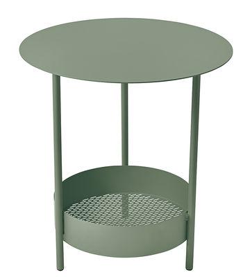 Arredamento - Tavolini  - Gueridon Salsa / Ø 50 x H 50 cm - Fermob - Cactus - Acciaio verniciato