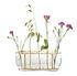Ikebana Long Vase - / Laiton & verre - H 10 cm by Fritz Hansen