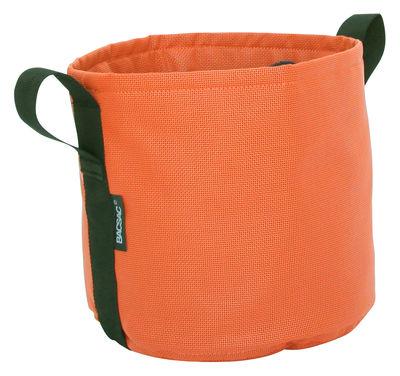 Outdoor - Vasi e Piante - Vaso per fiori Batyline® - / Outdoor- 10 L di Bacsac - Zucca - Tela Batyline®