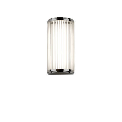 Lighting - Wall Lights - Versailles LED Wall light - / Glass slats - L 25 cm by Astro Lighting - Chromed - Glass, Steel