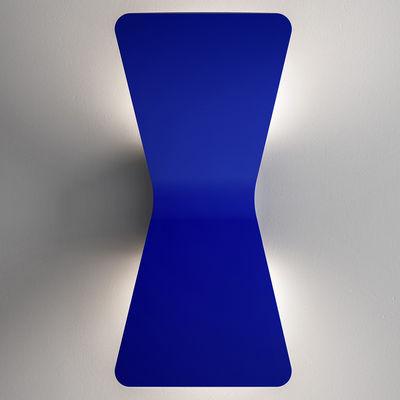 Applique Flex LED - Fontana Arte bleu en métal