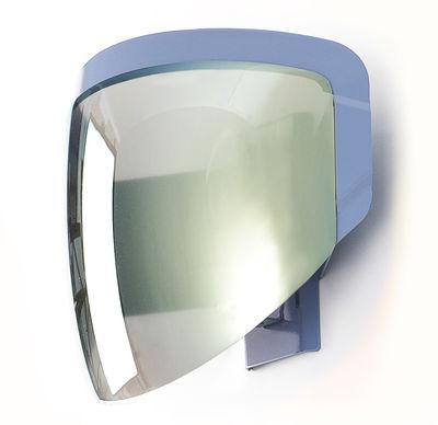 Luminaire - Appliques - Applique Moto - Moustache - Gris - Métal, PMMA