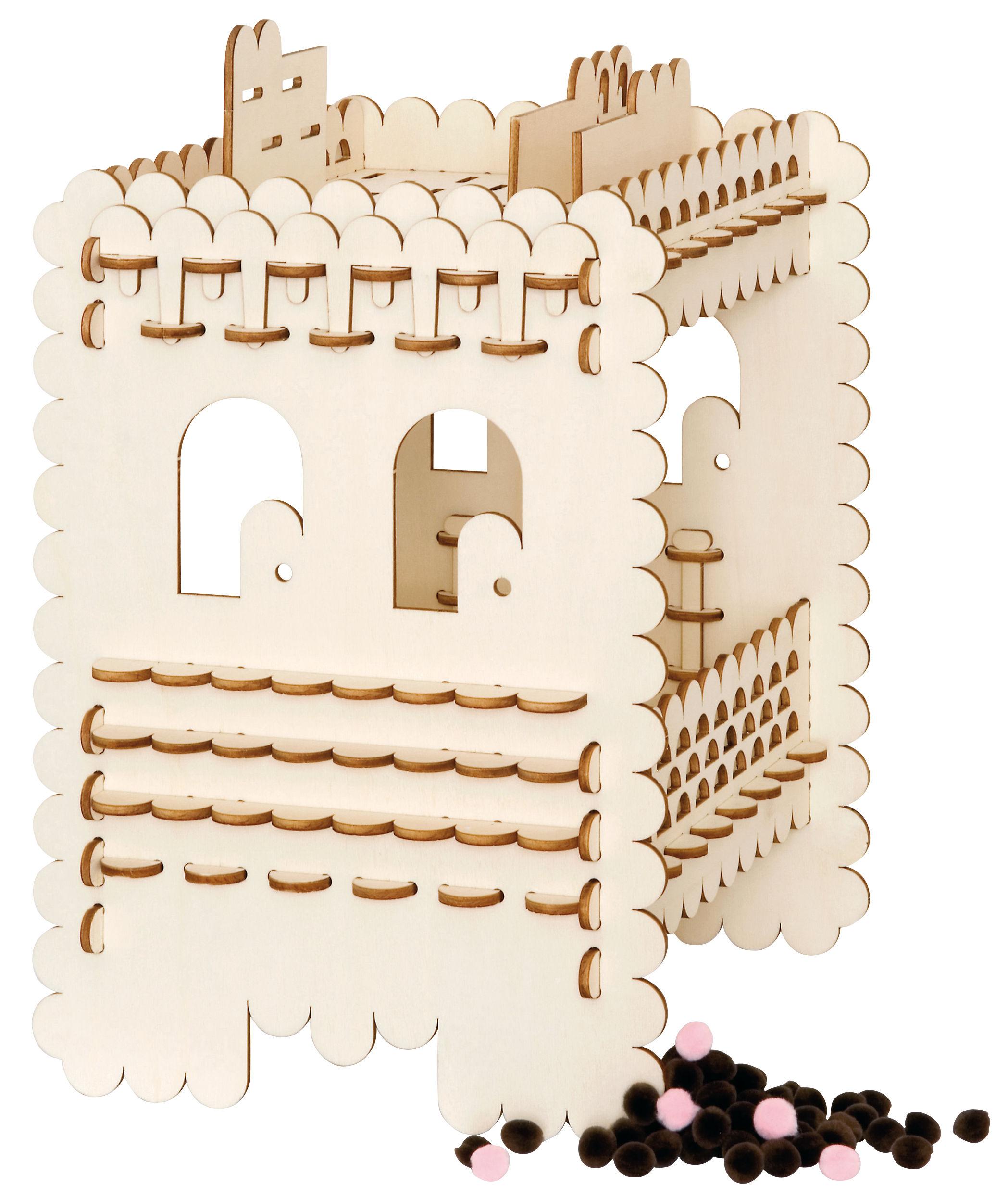 Möbel - Couchtische - Edgog Beistelltisch Bausatz - Domestic - Kolz - Vielschicht-Sperrholz in Birke