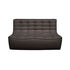 Canapé droit N701 / L 140 cm - Tissu - Ethnicraft