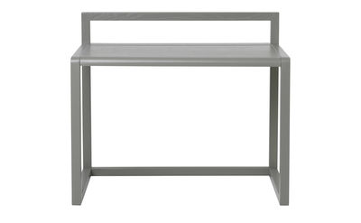 Furniture - Kids Furniture - Little Architect Children's desk - / Wood - L 70 cm by Ferm Living - Grey - Ash plywood