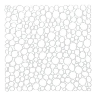 Mobilier - Paravents, séparations - Cloison Oxygen / Set de 4 - Crochets inclus - Koziol - Blanc - Polycarbonate