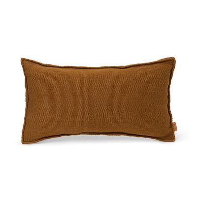 Coussin d'extérieur Desert / Bouteilles plastique recyclées - 53 x 28 cm - Ferm Living marron/beige en tissu