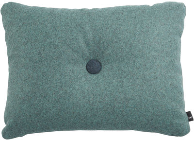 Decoration - Cushions & Poufs - Dot - Divina Cushion by Hay - Blue, petroleum blue & grey buttons - Kvadrat fabric