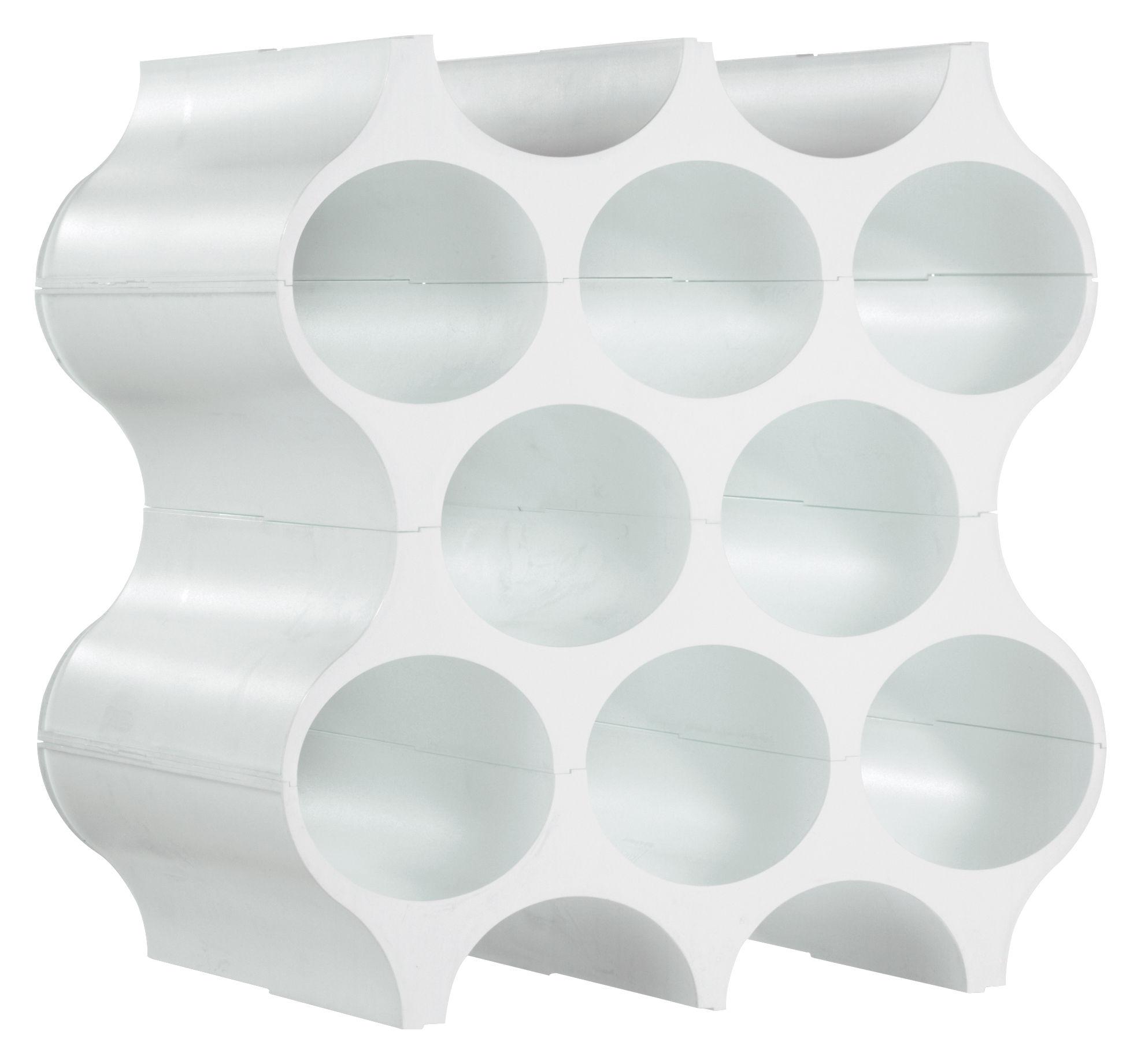 Tischkultur - Bar, Wein und Apéritif - Setup Flaschenregal - Koziol - Weiß - Plastik