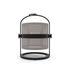 Lampada solare La Lampe Petite LED - / Senza filo - Struttura nera di Maiori
