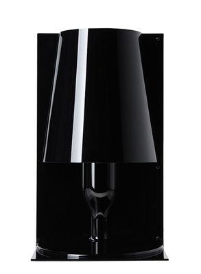 Illuminazione - Lampade da tavolo - Lampada da tavolo Take di Kartell - Opaco nero - policarbonato