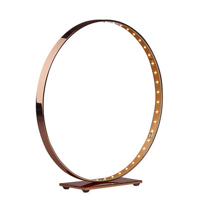 Luminaire - Lampes de table - Lampe de table Micro / LED - Ø 30 cm - Le Deun - Cuivre brillant - Acier