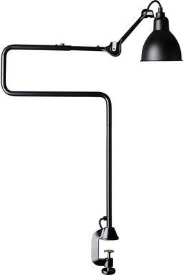 Luminaire - Lampes de table - Lampe de table N°211-311 / Lampe d'architecte - Base étau / Lampe Gras - DCW éditions - Abat-jour noir / Structure noire - Acier