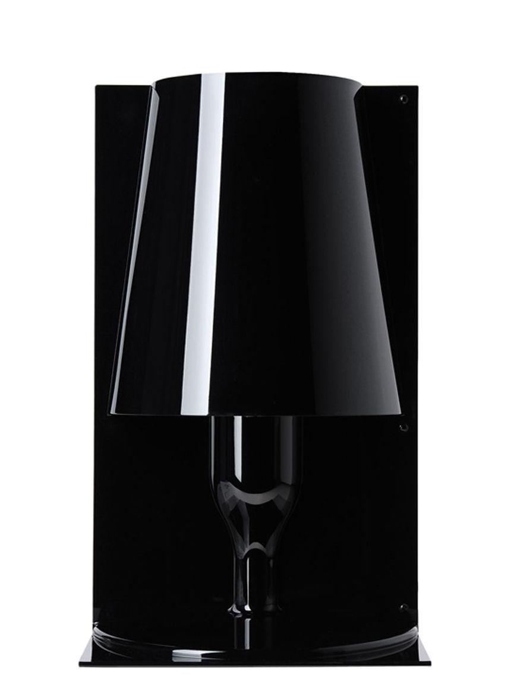 Luminaire - Lampes de table - Lampe de table Take - Kartell - Opaque Noir - Polycarbonate