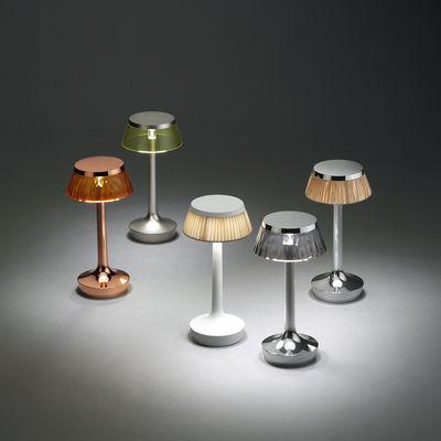 Lampe Ohne Kabel Bon Jour Unplugged Von Flos Grau Made In Design
