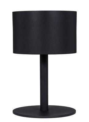 Lampe solaire La Lampe Pose 01 / LED - Hybride & connectée - Maiori noir en métal