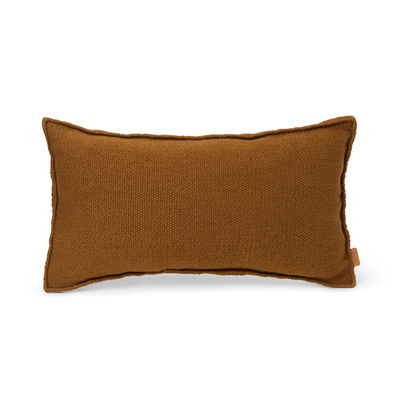 Decoration - Cushions & Poufs - Desert Outdoor cushion - / Recycled plastic bottles - 53 x 28 cm by Ferm Living - Ginger - Recycled fabric