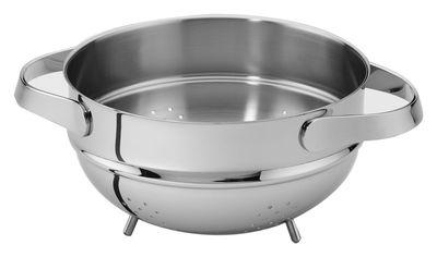 Cuisine - Ustensiles de cuisines - Passoire Al Dente Ø 24 cm - Serafino Zani - Ø 24 cm - Inox brillant - Acier inoxydable poli