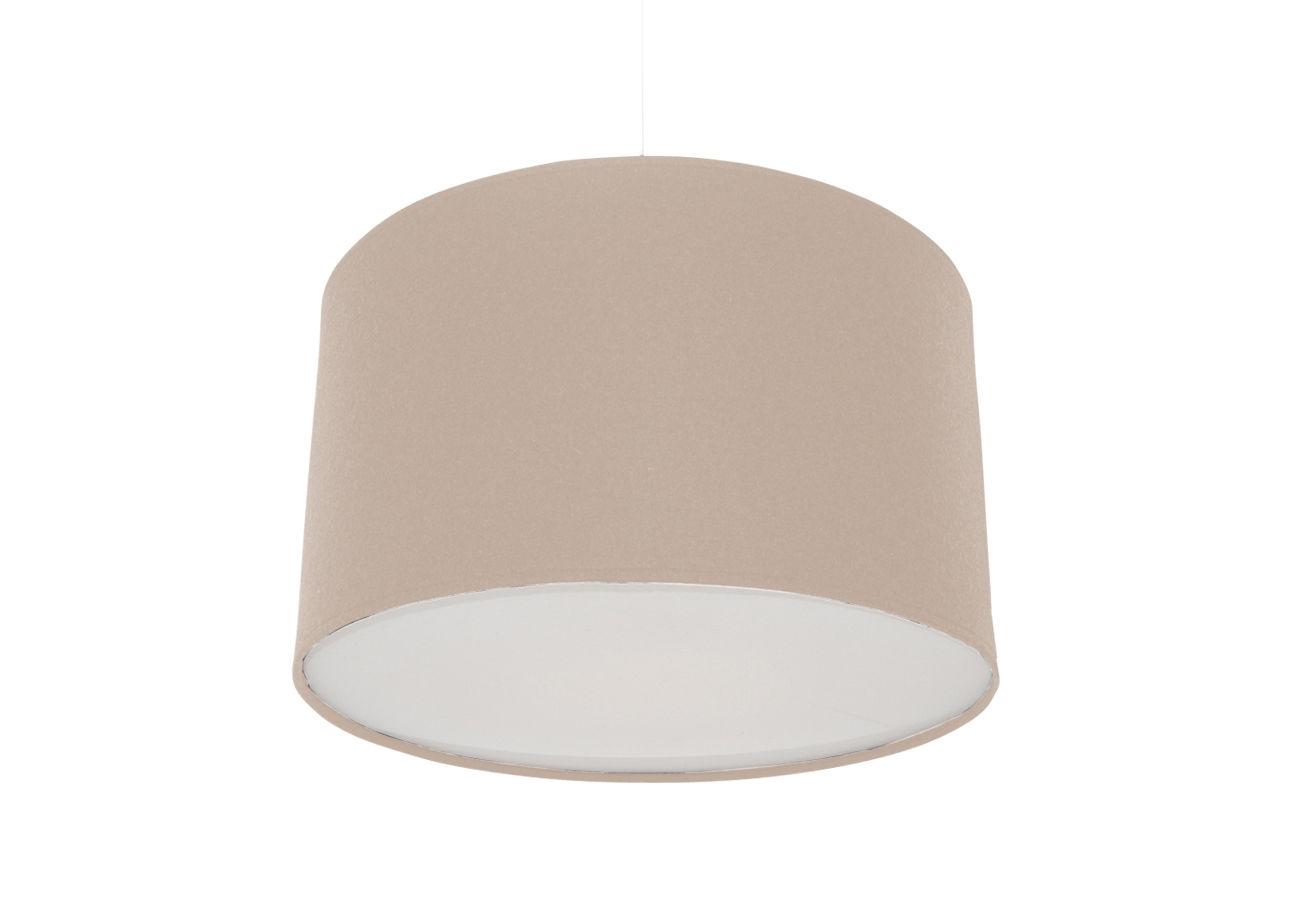 Lighting - Pendant Lighting - Kobe Medium Pendant - Ø 32 cm by Innermost - Natural - Acrylic felt, Cotton, Wool