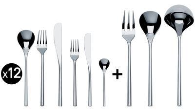 Image of Servizio Mu - / 75 pezzi di Alessi - Metallo lucidato - Metallo