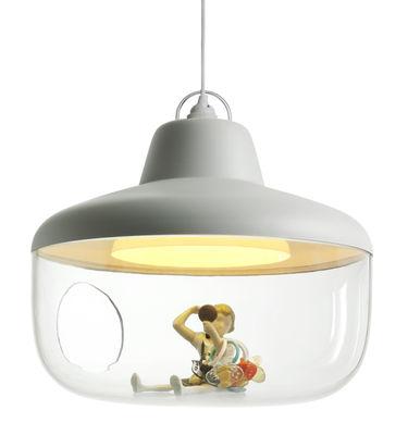 Illuminazione - Lampadari - Sospensione Favourite things - / Vetrina di ENOstudio - Bianco - policarbonato, Polipropilene