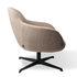 Spock Swivel armchair - / Fabric & metal by Pols Potten