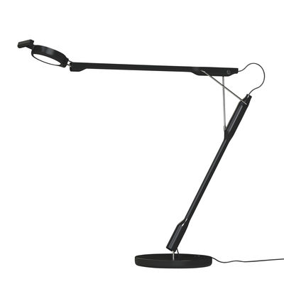 Tivedo LED Tischleuchte / verstellbar - Luceplan - Schwarz
