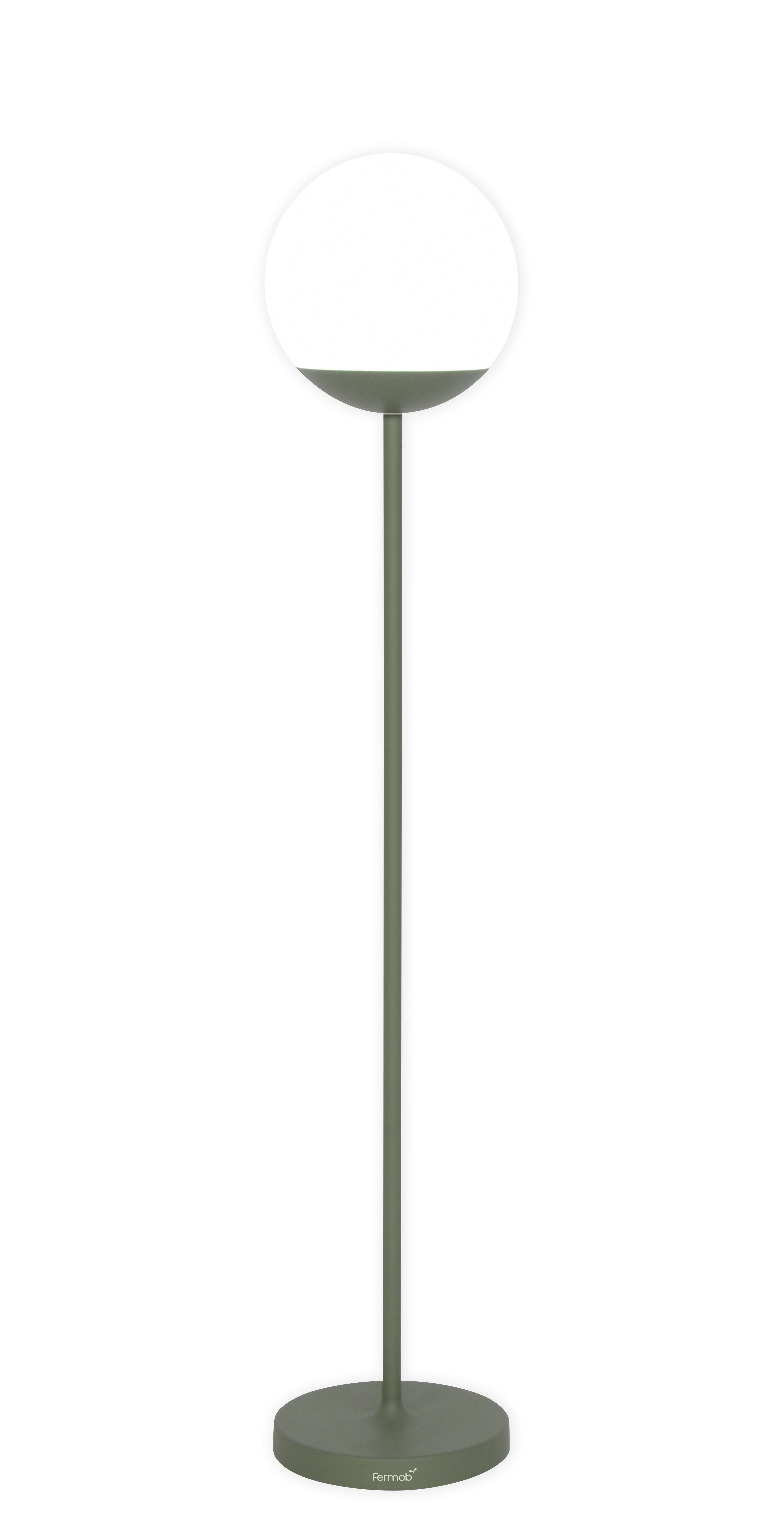 Lighting - Floor lamps - Mooon! LED Wireless floor lamp - / wireless - H 134 cm by Fermob - Cactus - Aluminium, Polythene