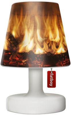 Abat-jour Cooper Cappie / Pour lampe Edison the Petit - Fatboy marron en matière plastique