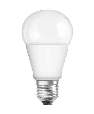 Luminaire - Ampoules et accessoires - Ampoule LED E27 avec radiateur / Standard dépolie - 11W=75W (2700K, blanc chaud) - Osram - 11W=75W - Verre