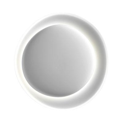 Illuminazione - Lampade da parete - Applique Bahia Mini / LED  - L 55 x H 53 cm - Foscarini - Bianco - Policarbonato stampato a iniezione