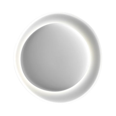Applique Bahia Mini / LED - 55 x 53 cm - Foscarini blanc en matière plastique