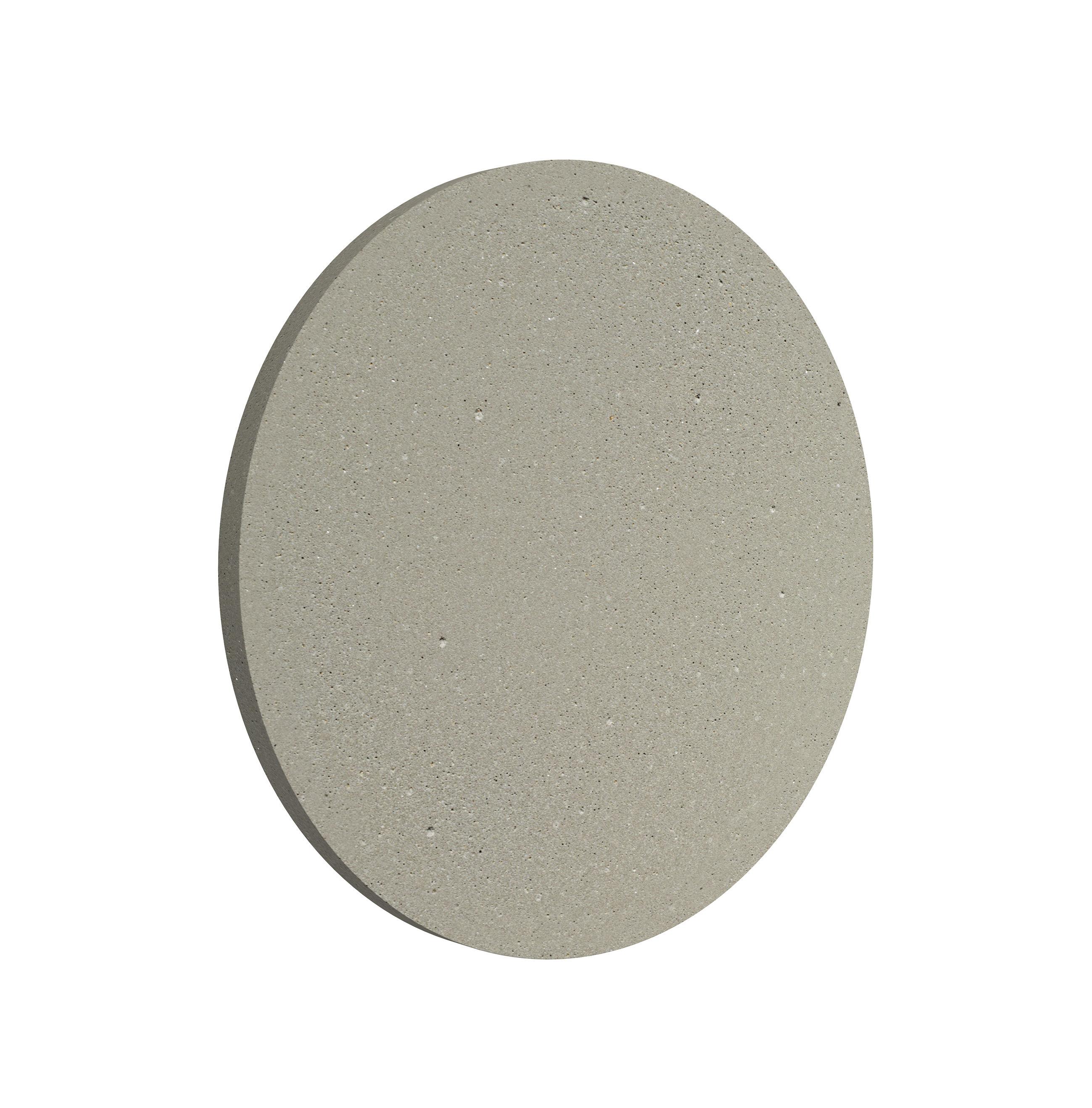 Luminaire - Appliques - Applique d'extérieur Camouflage LED / Ø 14 cm - Flos - Béton - Aluminium, Ciment