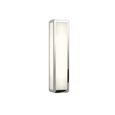 Applique Mashiko LED / L 35 cm - Polycarbonate - Astro Lighting blanc,chromé en métal