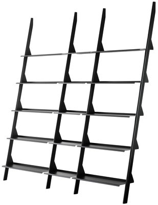 Furniture - Bookcases & Bookshelves - Tyke - The Wild Bunch Bookcase by Magis - Black - Varnished steel