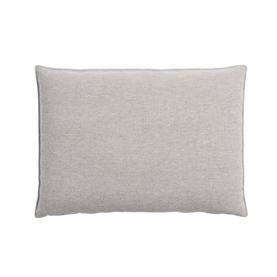 Interni - Cuscini  - Cuscini per schienale - supplementare / Per divano In Situ - 65 x 45 di Muuto - Grigio chiaro - Espanso, Tessuto Kvadrat