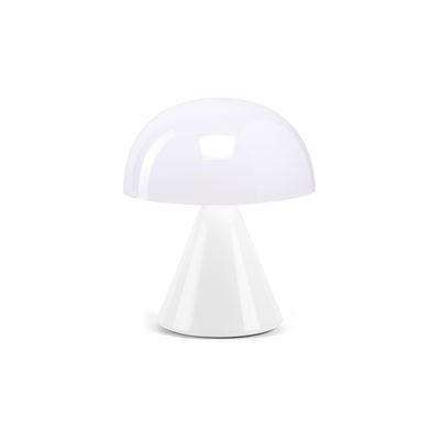 Image of Lampada senza fili Mina Mini - / LED - H 8,3 cm / INDOOR di Lexon - Bianco - Metallo/Materiale plastico