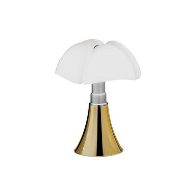 Lampe de table Minipipistrello LED / Variateur - H 35 cm - Martinelli Luce or/métal en métal/matière plastique