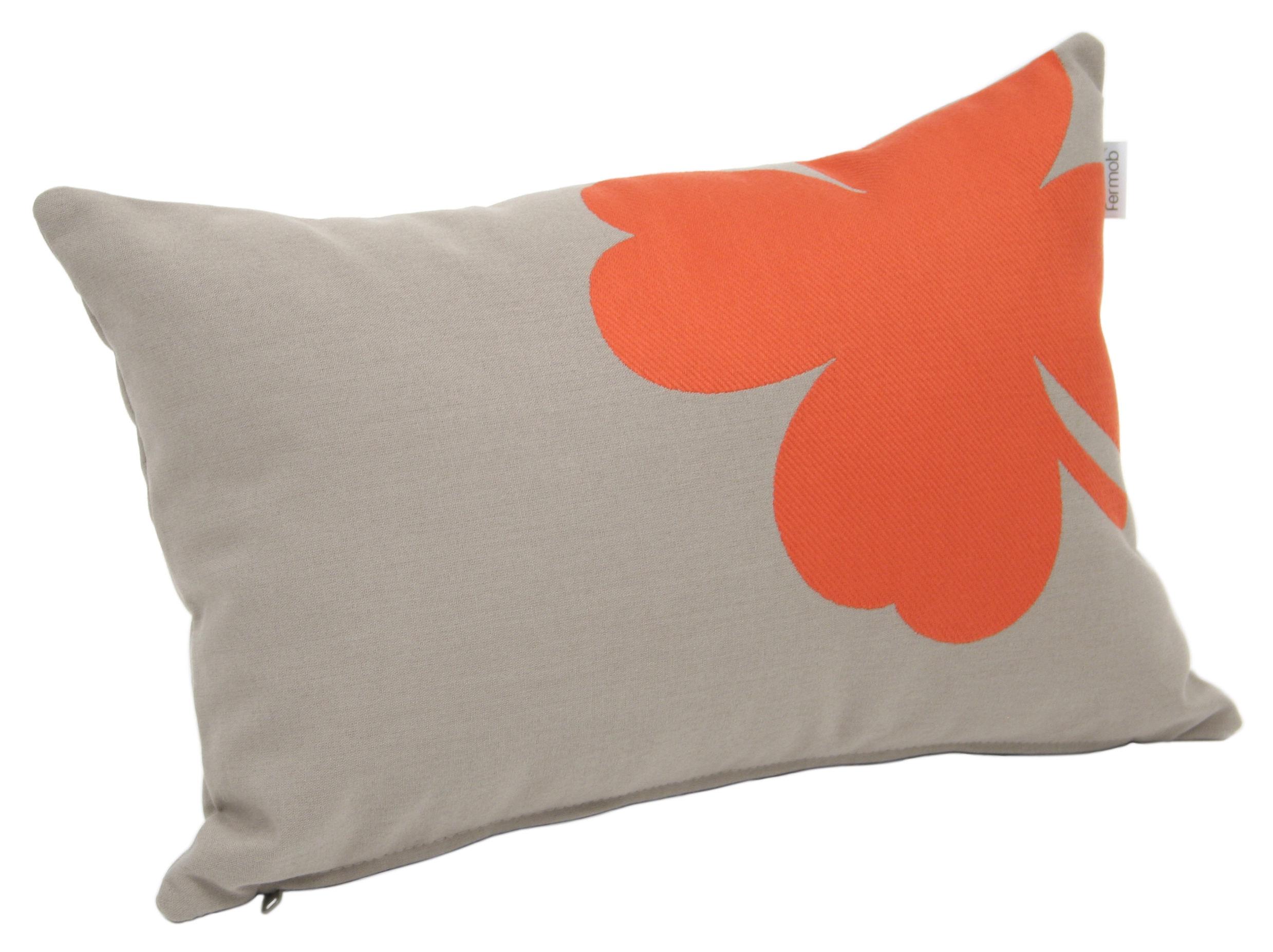 Outdoor kissen tr fle von fermob beige motiv koralle made in design - Outdoor kissen fur loungemobel ...