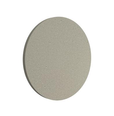 Leuchten - Wandleuchten - Camouflage LED Outdoor-Wandleuchte / Ø 14 cm - Flos - Beton - Aluminium, Zement