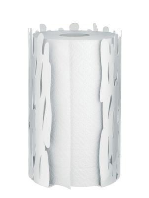Arts de la table - Accessoires - Porte-rouleau essuie-tout Barkroll - Alessi - Blanc - Acier inoxydable laqué