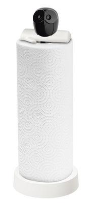 Porte-rouleau essuie-tout Elli - Koziol blanc,noir en matière plastique
